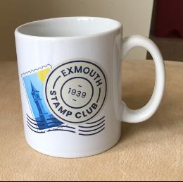exmouth stamp club mug